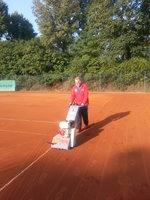 Sanierung Tennisplätze Traglufthalle Wintersaison